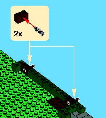 picture showing 1x2 Technic bricks